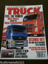 TRUCK - TALES FROM PIONEERS - APRIL 2003