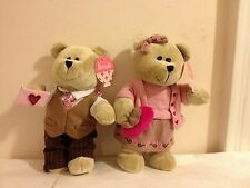 2007 Starbucks Valentine Bearista Bear Couple NEW with Tags Retired