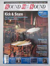 SOUND ON SOUND Magazine Giu 2008 Kick & Snare Mike Chapman on Blondie No cd dvd