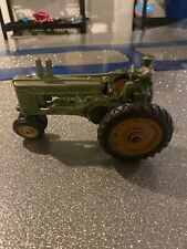 Vintage John Deere Model A Toy Tractor with Driver 1940's Ertl Diecast