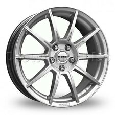 Set of 4 MOMO Car Wheel Rim 18 x 8 Rush - Silver - 5 x 114.3 - RU80851440S