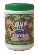 Lawn Pro 400gram Dichondra Blend Lawn Seed Covers 20sqm Oversows 40sqm