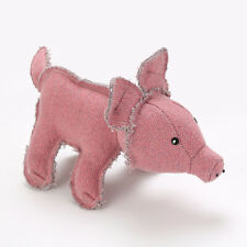 New Pets Dog Puppy Pig Shape Doll Bite-resistant Interactive Chew Play Toy Gift