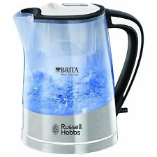 Russell Hobbs Plastic Brita Water Filter Purity Jug Kettle 22851 1L, Transparent