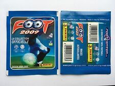 POCHETTE PANINI FOOT 2009 LIGUE 1 PACKET TUTEN BUSTINA STICKERS