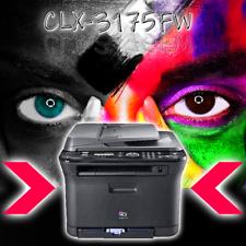 SAMSUNG 4 in 1 Farblaserdrucker CLX-3175FW OHNE Toner