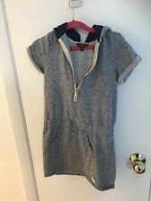7 For All Mankind Girls Hoodie Dress Size M 8/10 New
