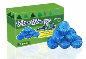 Premium Urinal Cakes 12 Pack | Individually Wrapped and Packaged for Cleanlin...
