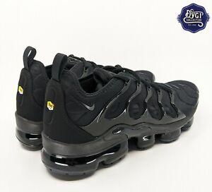 Nike Air Vapormax Plus Triple Black Men's Size 10 924453-004 VM New NWB Air Max