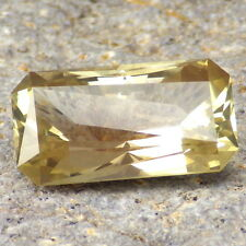 GOLD-YELLOW SUNSTONE-OREGON 11.76Ct FOR LARGE JEWELRY-PRECISION FACETING IN E.U.