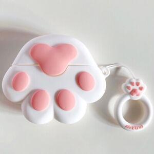 NEW 3D Cute Cartoon Kawaii Animal Fun Design Soft Silicone AirPod Cases Cover