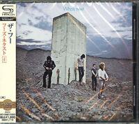 THE WHO-WHO'S NEXT-JAPAN SHM-CD BONUS TRACK D50