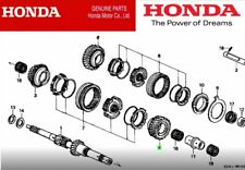 HONDA CIVIC INTEGRA EK EG DB DC GENUINE GEAR MAINSHAFT FOURTH 23451-P21-000