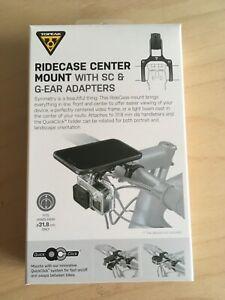 Topeak Ridecase Center Mount mit SC & G-Ear Adaptern, neuwertig, OVP