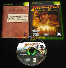 INDIANA JONES E LA TOMBA DELL'IMPERATORE XBOX (patch X360) Italiano ○○○ COMPLETO