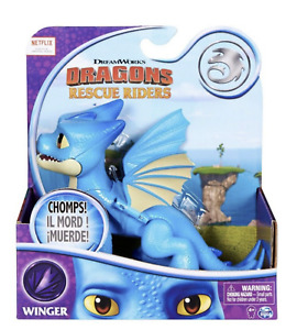"Dreamworks DRAGONS Rescue Riders WINGER FIGURE 6"" Dragon Netflix NEW"