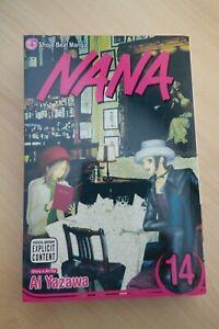 Nana Vol. 14 Ai Yazawa Manga Shojo Beat 1st Printing 2009 PB
