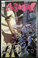 ANIMAL NOIR #1 RI Retailer Incentive (2017 IDW Comics) ~ VF/NM Comic Book
