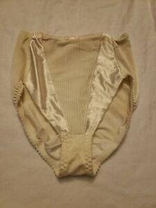 Vtg Satin Adonna Ivory Panties L