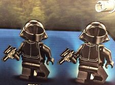 Lego - Star Wars First Order Crew minifigures X2 75104 *NEW*