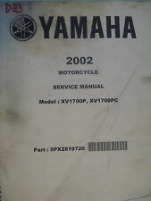 2002 Yamaha XV1700 Venture : Factory Service Manual