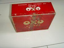 VINTAGE OXO CUBE TIN CIRCA 1950s UP CYCLE / MAN CAVE / SHELF ART