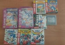 Huge Sonic Tails skypatrol Sonic drift Spinball Chaos Labyrnth SEGA Game Gear