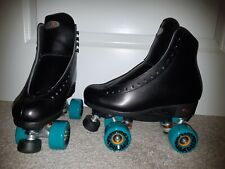 New listing riedell outdoor roller skates size 7 black