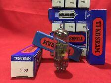 EF80 TUNGSRAM VACUUM TUBE VALVE NOS NIB ELECTRON EF 80 EQUIV 6BX6 VACUM TUBE
