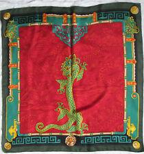 Magnifique foulard MUST de CARTIER  Paris 100% soie en parfait  vintage Scarf
