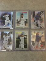 2019 Topps/bowman Rookie Cadd Lot Vlad Jr /Tatis Jr/Bo Bichette 6 Card Lot