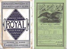 4 Victorian insurance life assurance adverts 1884 artwork finance social history