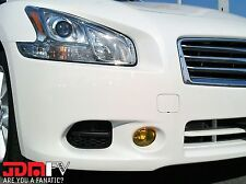 09-15 Maxima Yellow Fog Light OverlaysTINT Vinyl WRAP COVER JDM PRECUT