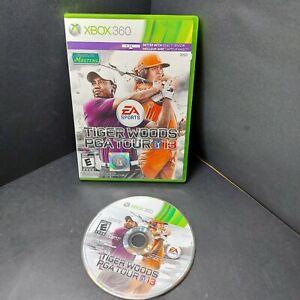 Tiger Woods PGA Tour 13 (Microsoft Xbox 360, 2012)(No manual)