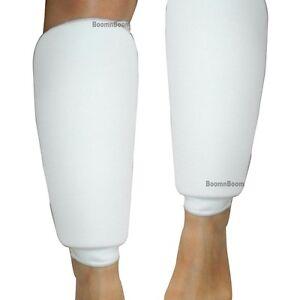 New Taekwondo, Karate, MMA Shin Protector Cloth Pad Leg Guard Sparring Gear