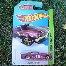 '70 Chevy CHEVELLE Red. HW Workshop 2015 SPEED TEAM. CFJ75. New in Package!