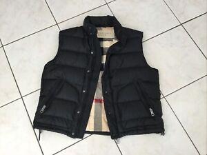 Doudoune sans manches BURBERRY BRIT taille XL noire quasi neuve 795€