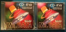 Mr. DATA CD-RW Rewritable CD 74 Minutes / 650 MB