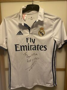 Gareth Bale Signed Real Madrid Shirt (See Description)