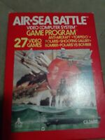 AIR SEA BATTLE for ATARI 2600 ▪︎ CIB ▪︎ FREE SHIPPING ▪︎