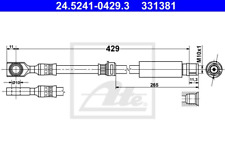 Bremsschlauch - ATE 24.5241-0429.3