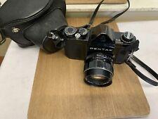 Vintage Black Asahi Pentax S1A SLR Camera - 55mm F1.8 Super-Takumar Lens #5547