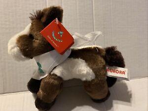 "Paint Mini Flopsie 8"" Aurora Plush Horse"