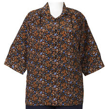 Women's Plus Size Blouse by A Personal Touch 3/4 Sleeve Tunic - NWT - Size 0X