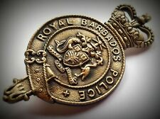 GÖDE Orden Polizeiabzeichen Sammlung Royal Barbados Police / BRIDGETOWN