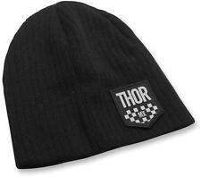 Thor BONNET S16 Chex noir chaud Bonnet D'hiver