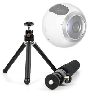 Telescopic 2-in-1 Tripod / Monopod (Selfie-Pod) For Samsung Gear 360 2016 / 2017