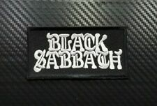 Black Sabbath Rock Metal Music Punk Band Pop Embroidered Iron Sew On Patch Logo