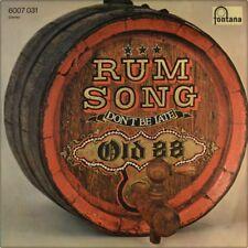 "7"" OLD 88 Rum Song / Don't Be Late FONTANA Glam Rock German-Press orig. 1974"