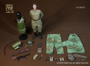 1//6 Scale Alert Line Figures Tall Boots for Feet Red Army Senior Officer